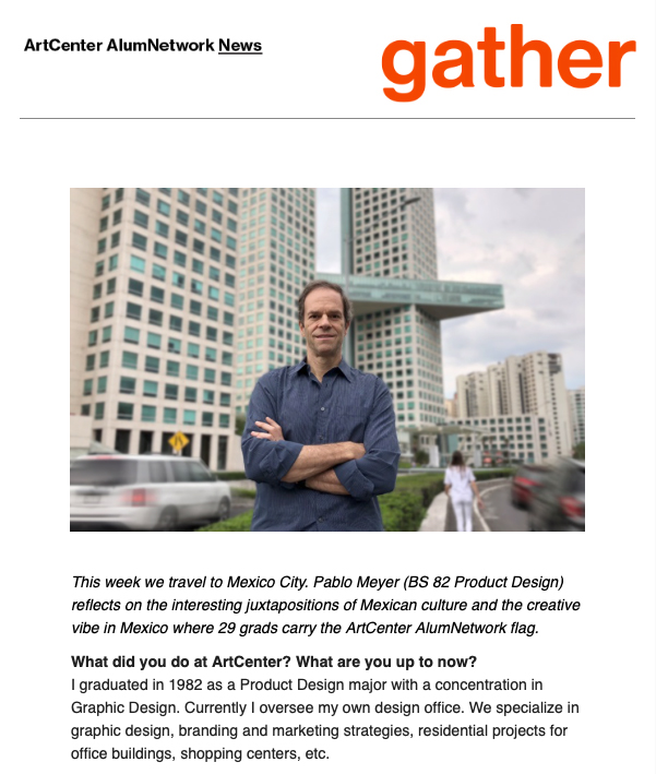 2018 GATHER: MEXICO CITY WITH PABLO MEYER