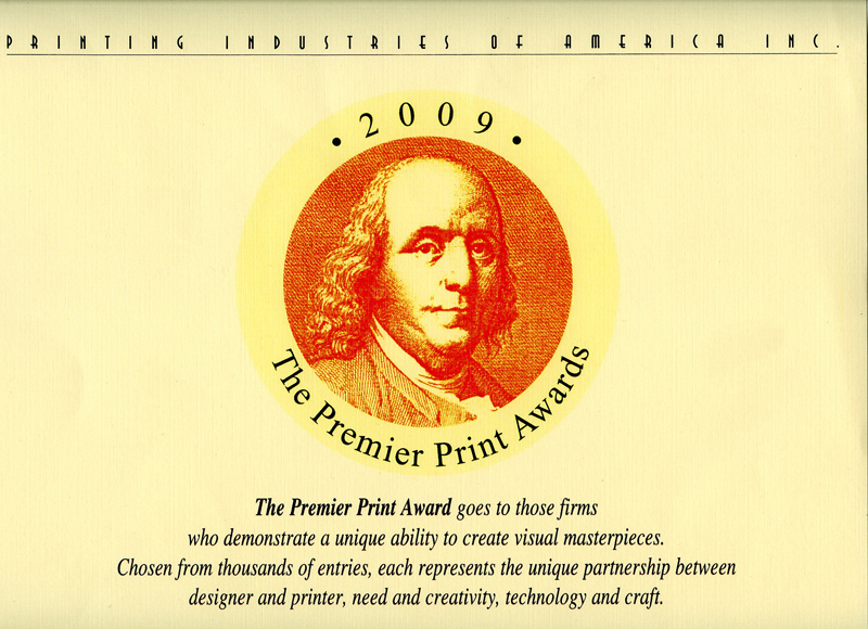2009 FOLLETO NATURA ARCHETONIC THE PREMIER PRINT AWARDS